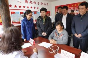 省总工会携手山西省人民医院进行扶贫义诊活动